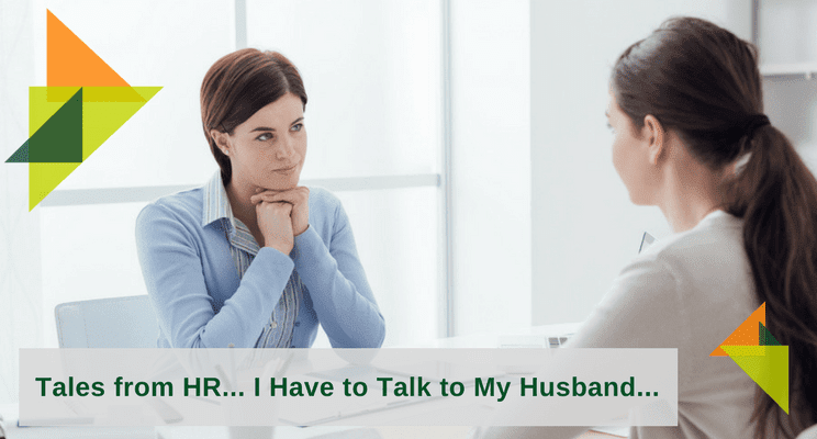 I have to ask my husband3